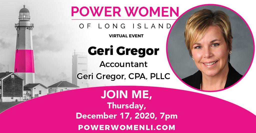 Ger Gregor Wins Power Women of Long Island